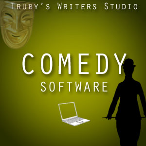 Truby writers studio comedy audio product page for Farcical humor examples